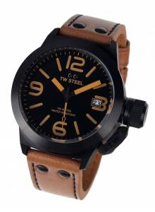 TW-Steel CS41 Canteen Leather 45mm 10ATM
