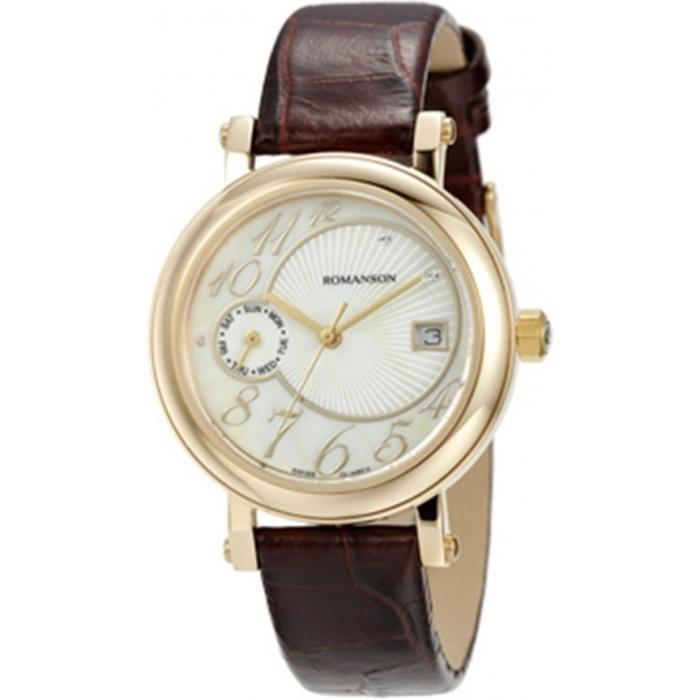 Ceas de dama Romanson Clasic RL3221 LG-WH