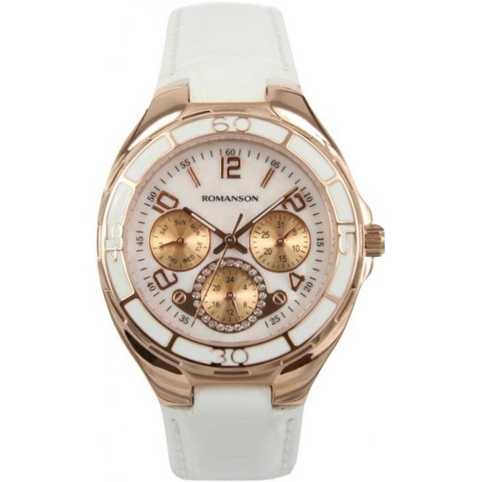 Ceas de dama Romanson Fashion Casual RL0357 UG-WH