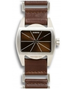 Ceas Unisex 666BARCELONA BAD BROWN/BROWN LEATHER-8424210000209