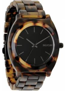 NIXON Time Teller A327-646 Acetate Tortoise Unisex