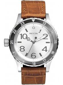 NIXON A467-1888 38-20 Leather Saddle Gator 38mm 20ATM