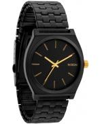 NIXON Time Teller A045-1041 Matte Black Gold Unisex