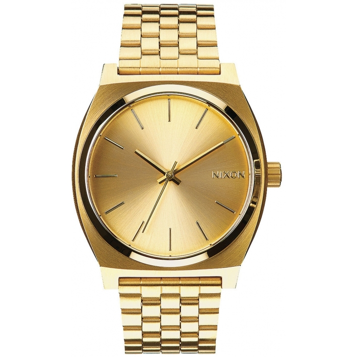 NIXON A045-511 Time Teller All Gold Gold 37mm 10ATM