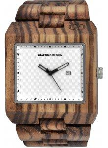 Ceas barbatesc Giacomo Design Quadarto GD08502