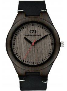 Ceas barbatesc Giacomo Design LEGNO SUL BAR GD08013