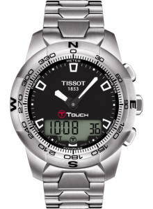 Ceas barbatesc Tissot T-TOUCH II STAINLESS STEEL T047.420.11.051.00