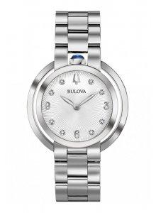 Ceas de dama Bulova Rubaiyat Diamond 96P184
