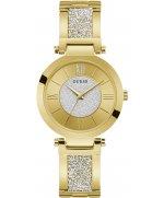 Ceas de dama Guess AURORA decorat cu Cristale Swarovski W1288L2