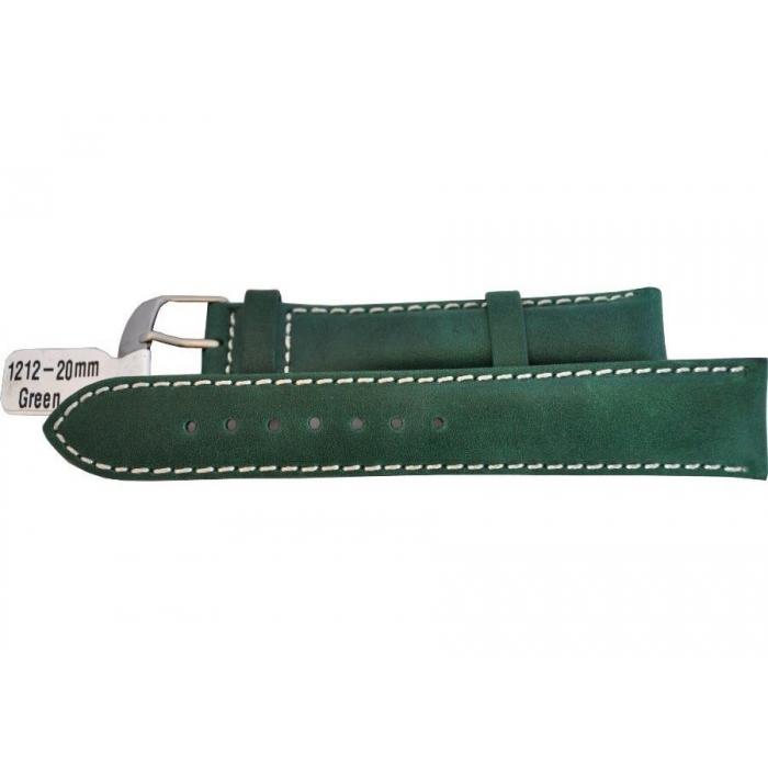 Curea (Bratara) ceas 1212-20mm Verde