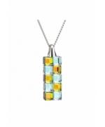 Colier de argint Preciosa (Vitrail L/M) Glittering Cubes